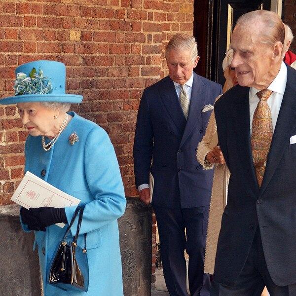 Queen Elizabeth, Prince Philip, Prince Charles, Prince George