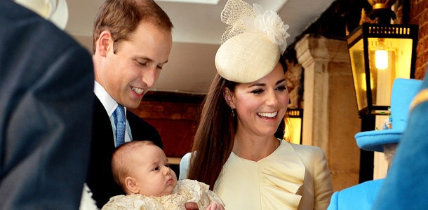 Prince William, Prince George, Kate Middleton