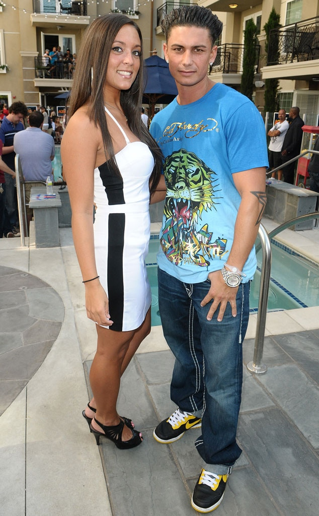 Sammi Giancola and Pauly D