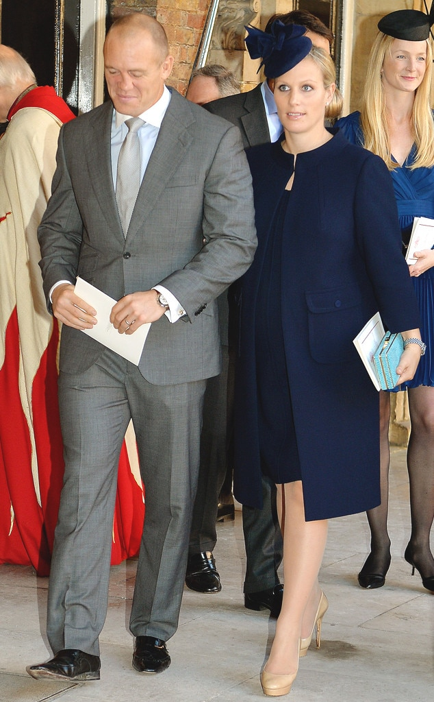 Zara Philips, Mike Tindall, Prince George