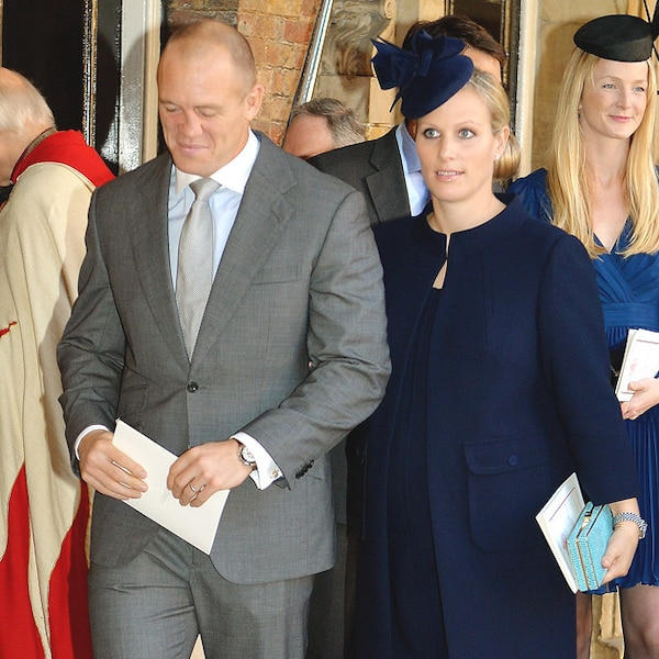 Zara Philips & Mike Tindall From Prince George's Royal