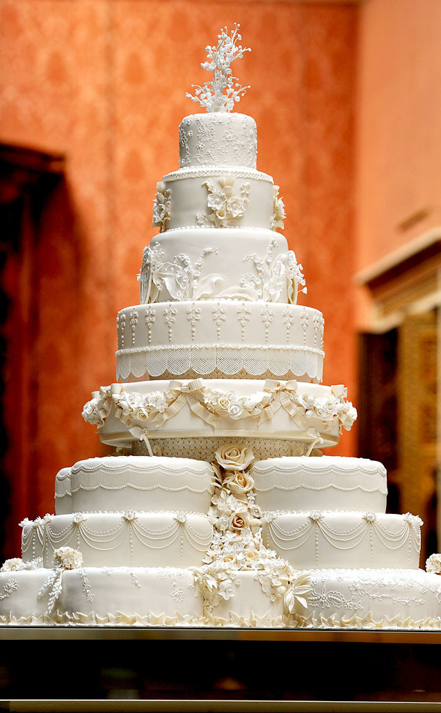 Prince George Christening, Royal Wedding, Cake
