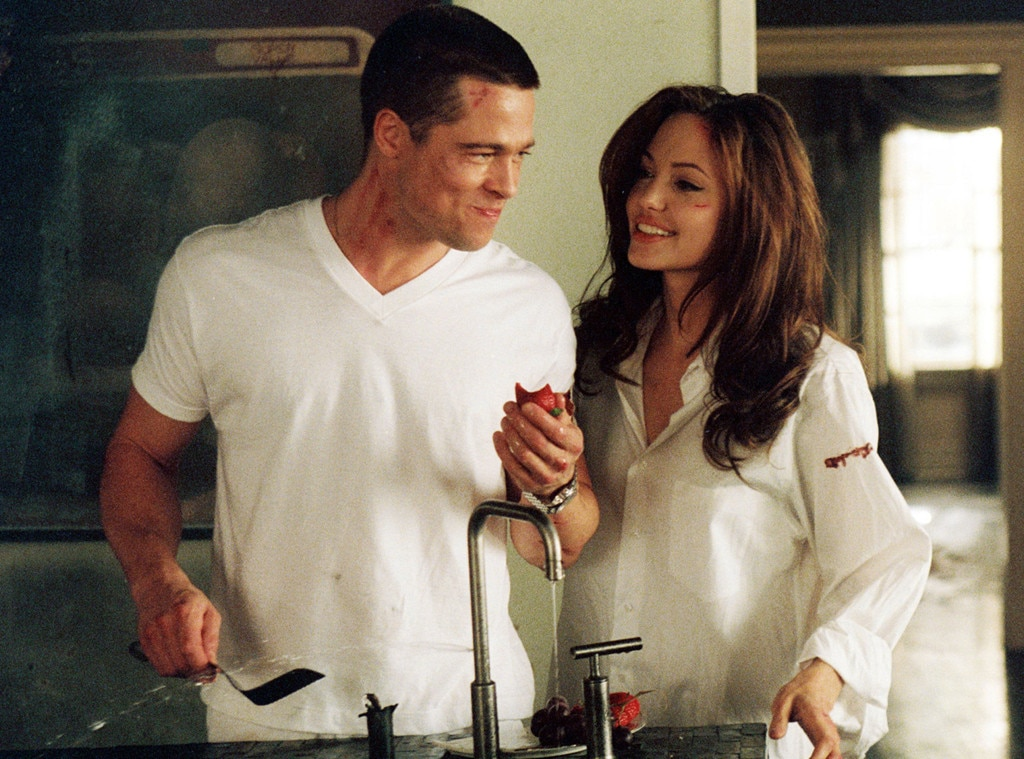 Brad Pitt, Angelina Jolie, Mr. and Mrs. Smith