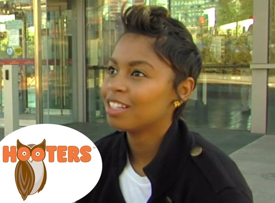 Hooters Waitress, fired because of hair