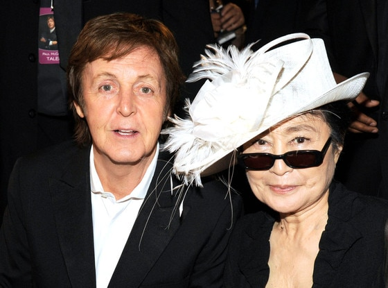 Paul McCartney, Yoko Ono