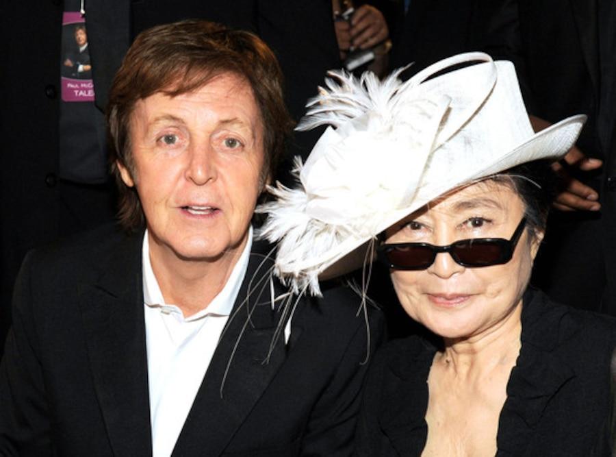 Paul McCartney, Yoko Ono