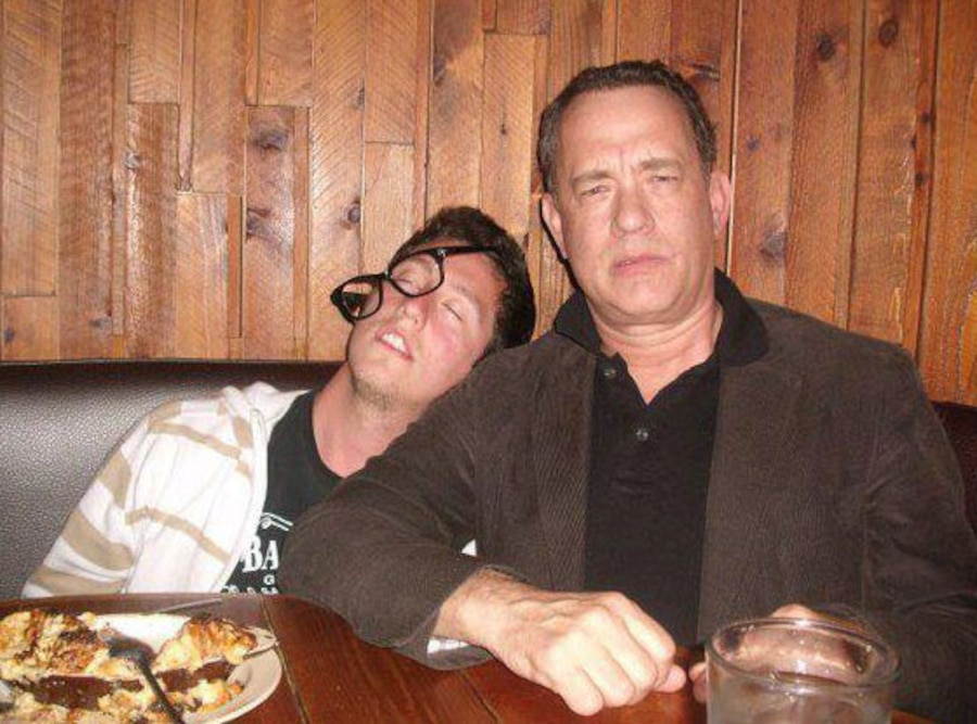 Tom Hanks Drunk