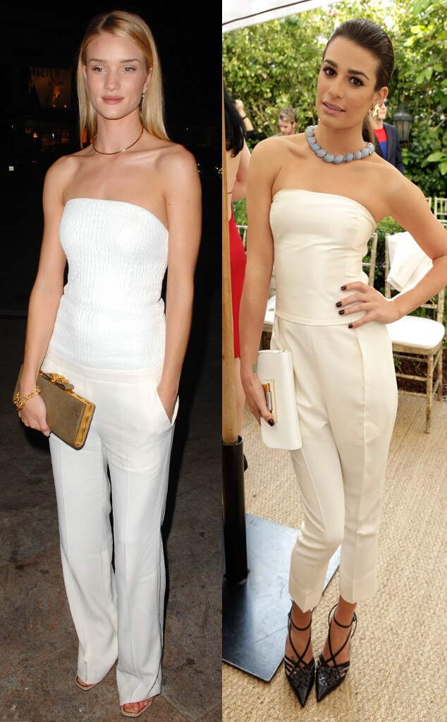 Rosie Huntington-Whiteley, Lea Michele