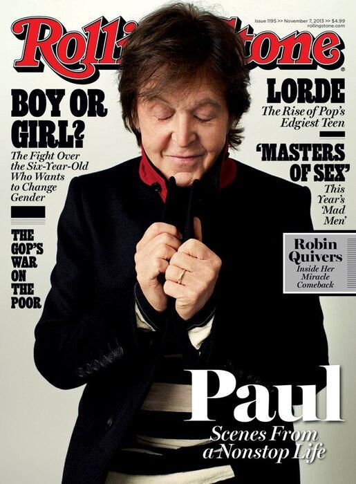 Paul McCartney, Rolling Stone