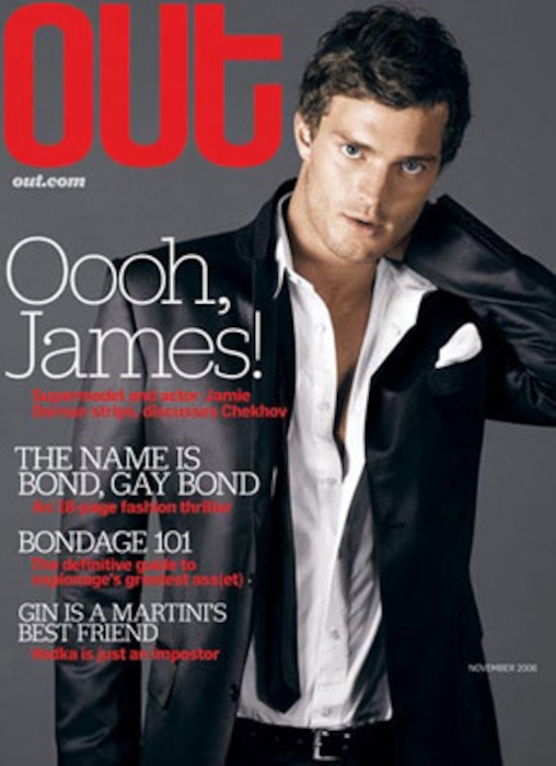 Jamie Dornan, Out Magazine
