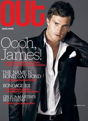Jamie Dornan, Out Magazine