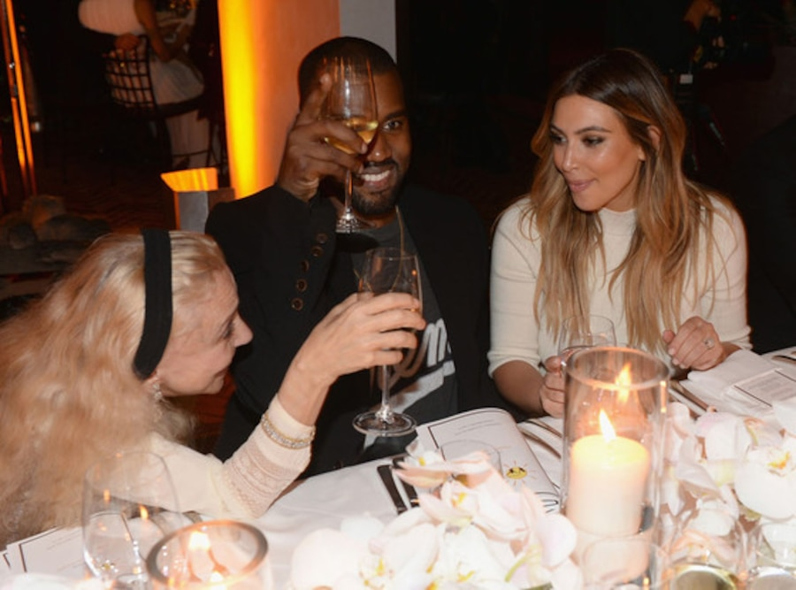 Franca Sozzani, Kanye West, Kim Kardashian