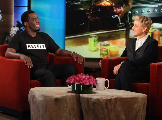 Sean Diddy Combs, Ellen DeGeneres