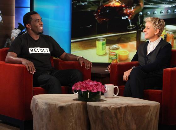 Sean Diddy Combs, Ellen DeGeneres