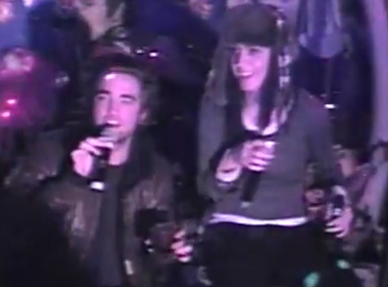 Robert Pattinson, Katy Perry, Karaoke