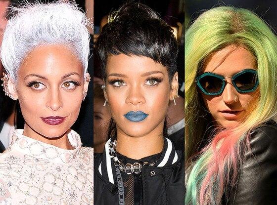 Kesha, Ke$ha, Rihanna, Nicole Richie
