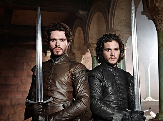 Richard Madden, Kit Harington, Game of Thrones