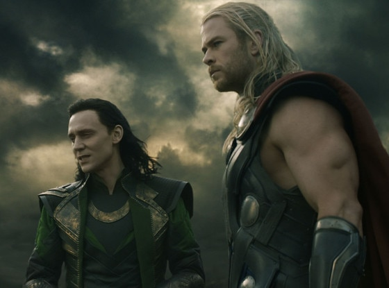 Thor, Tom Hiddleston, Chris Hemsworth