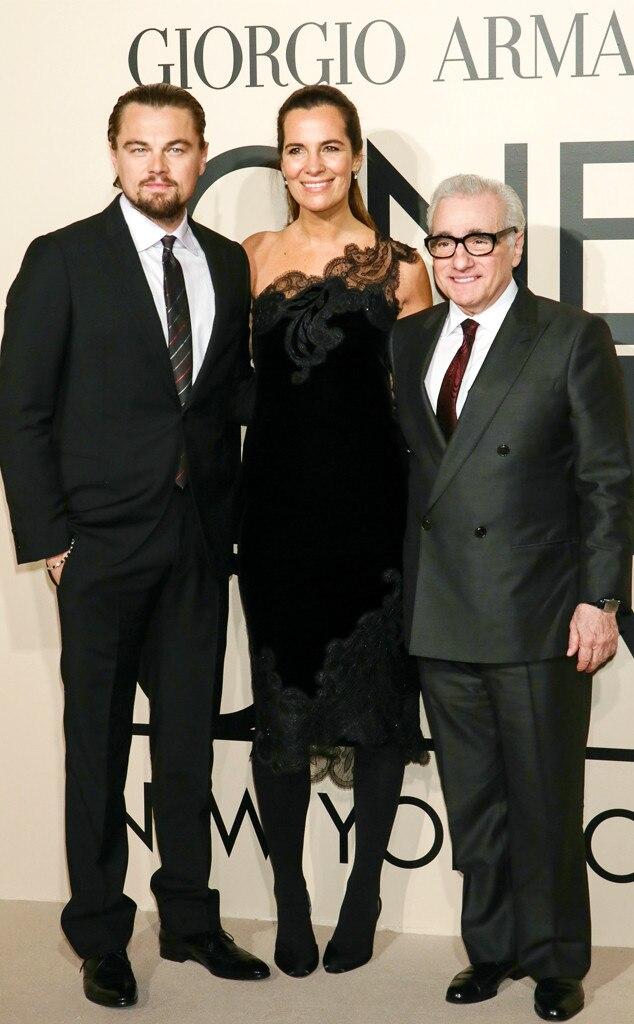 Leonardo DiCaprio, Roberta Armani, Martin Scorsese