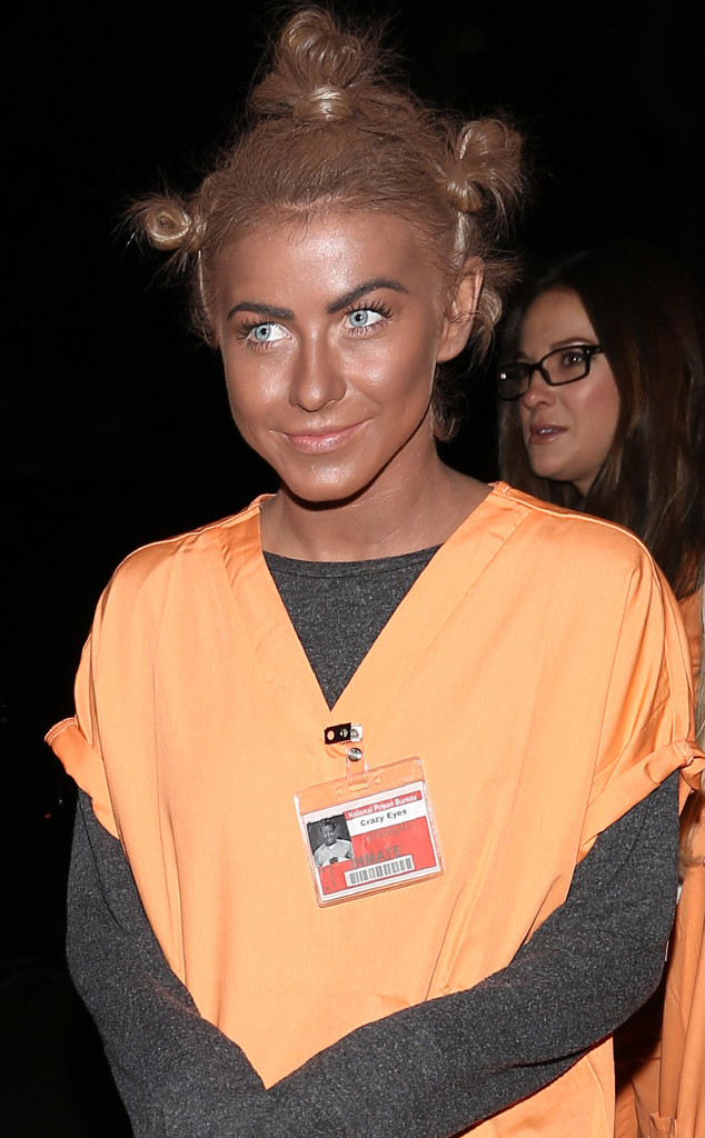 Julianne Hough, Controversial Halloween Costumes
