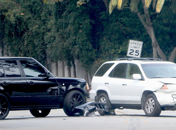 David Beckham, Car Crash