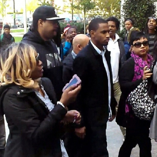 Chris Brown, Court, Instagram