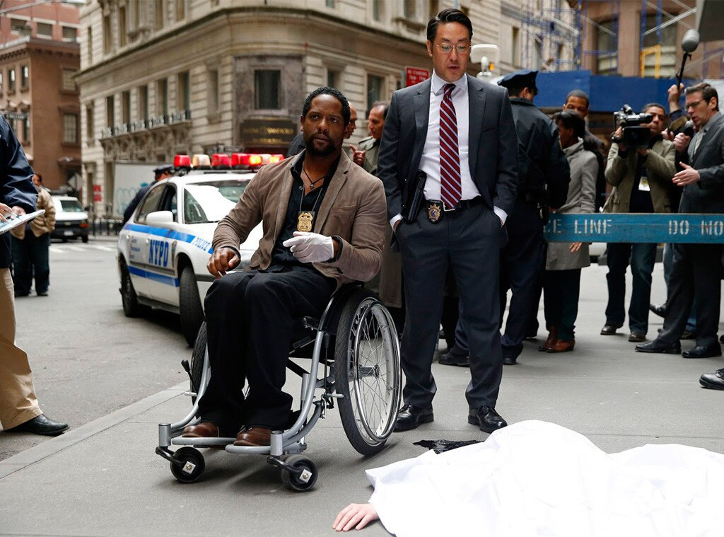 Blair Underwood, Kenneth Choi, Ironside