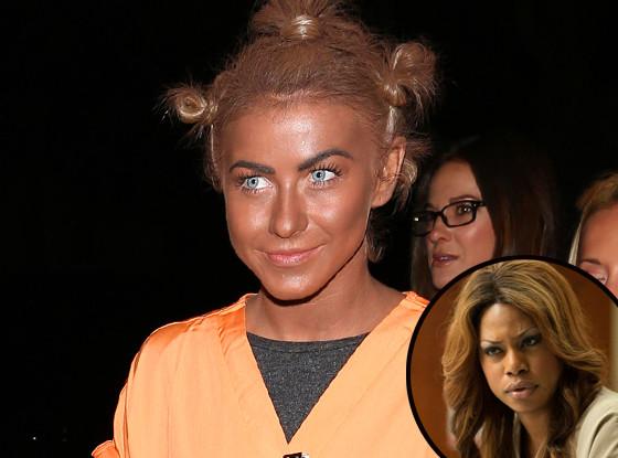 Julianne Hough, Laverne Cox, Orange is the New Black