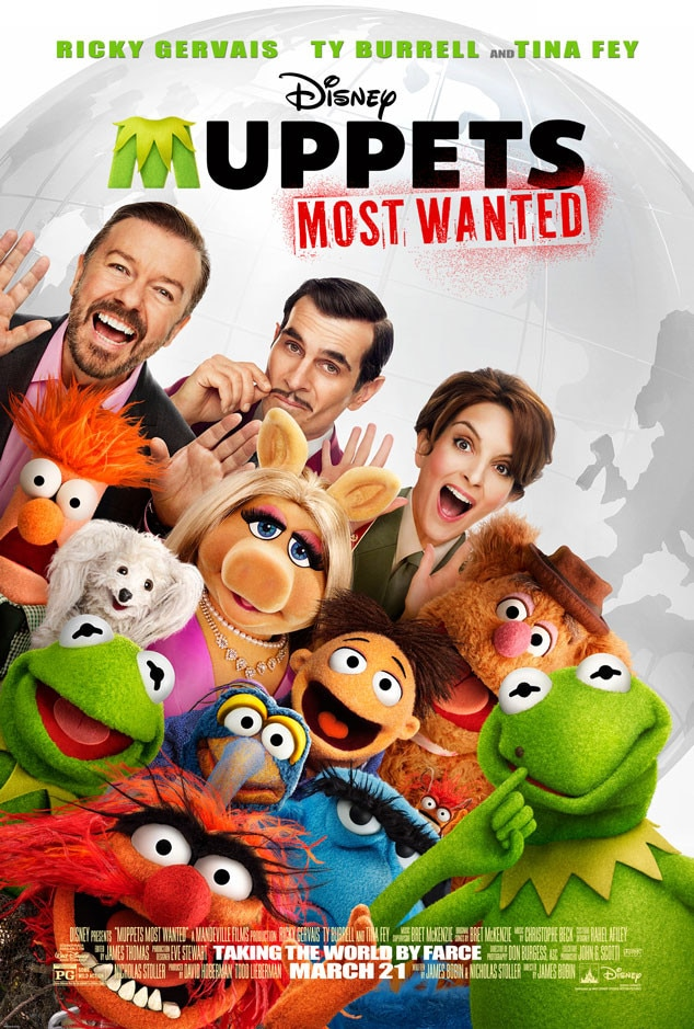 Muppets Most Wanted, Poster