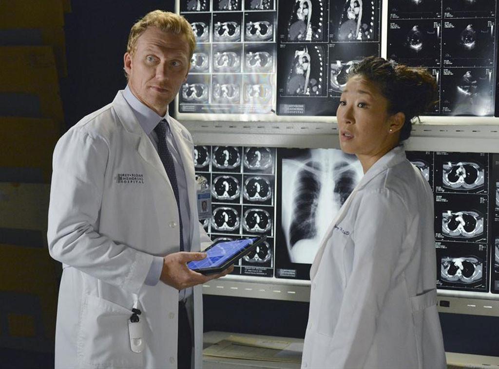 Grey's Anatomy, Kevin McKidd, Sandra Oh