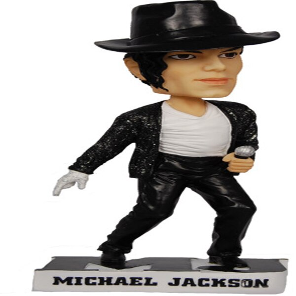 Celebrity Bobbleheads 14 Pics: Michael Jackson From Celebrity Bobbleheads