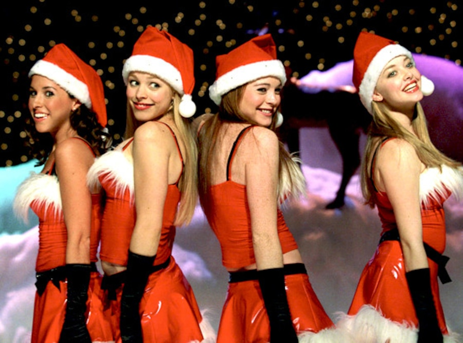 Lacey Chabert, Lindsay Lohan, Rachel McAdams, Amanda Seyfried, Mean Girls