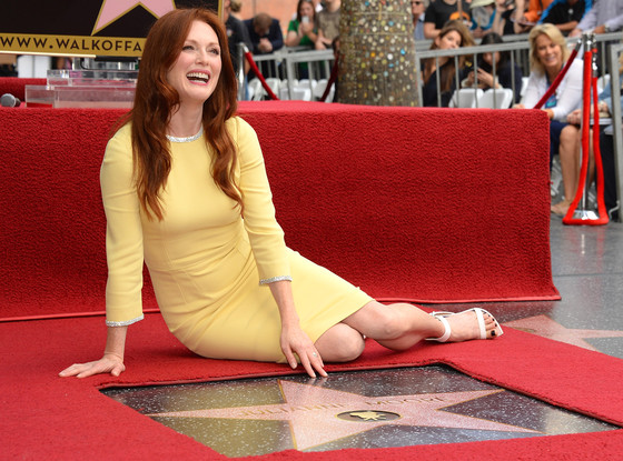 Julianne Moore, Hollywood Walk of Fame