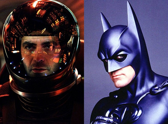 Gravity, George Clooney, Batman