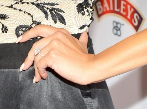 Naya Rivera, Engagement Ring