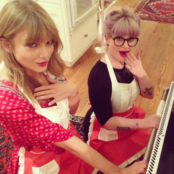 Taylor Swift, Kelly Osbourne, Instagram