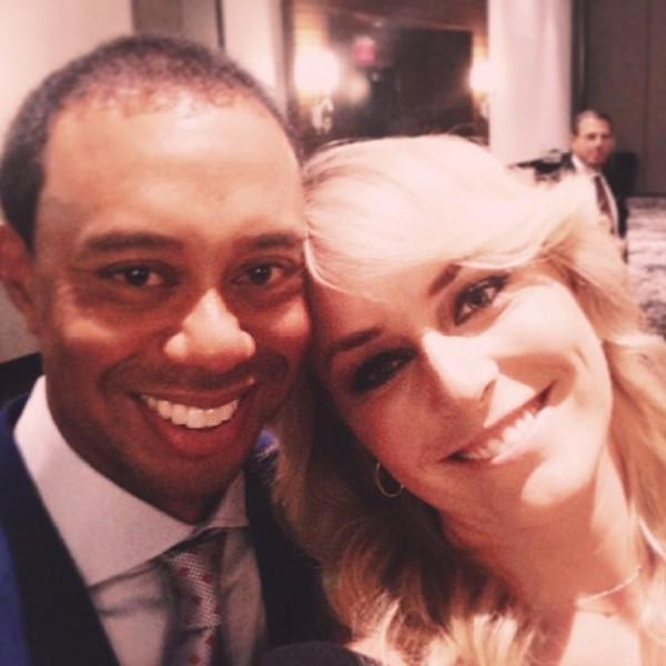 Tiger Woods, Lindsey Vonn, Instagram