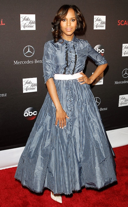 Scandal, Kerry Washington, Saks