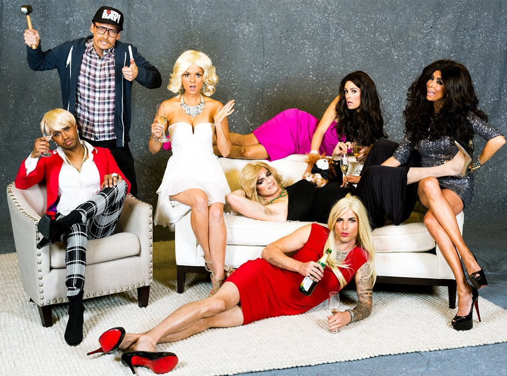 E! News Hosts, Real Housewives Halloween