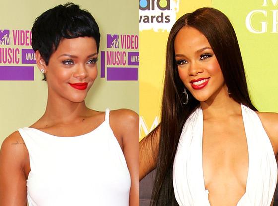 Rihanna, Hair Extensions