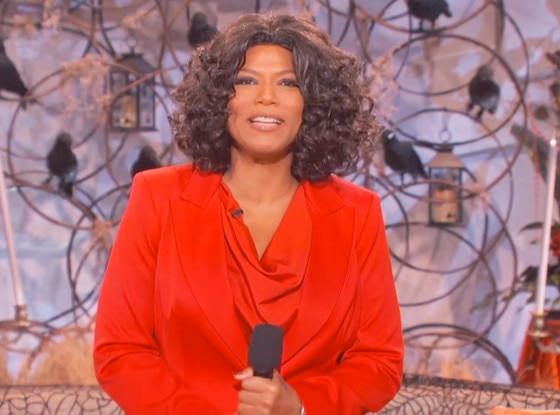 Queen Latifah, Halloween, Oprah