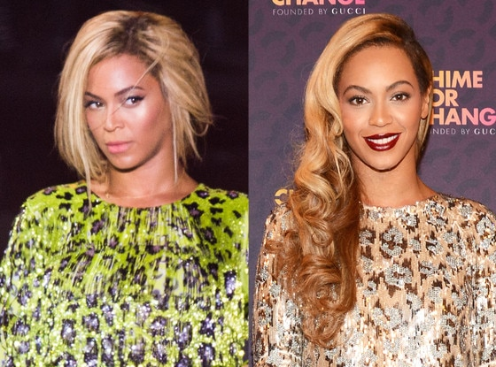 Beyonce, Hair Extensions