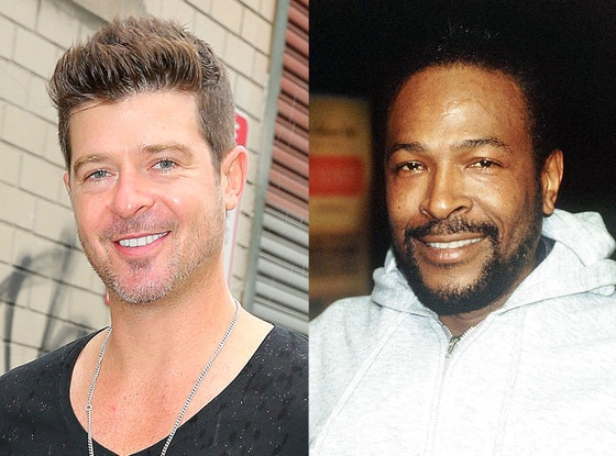 Robin Thicke, Marvin Gaye