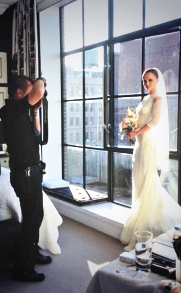 Christina Ricci, Wedding Dress