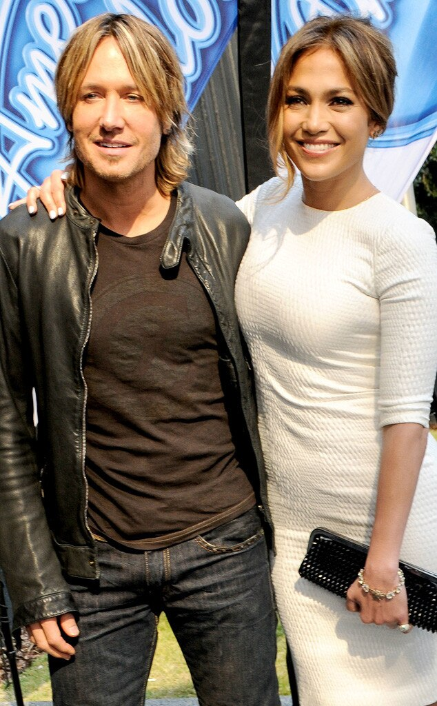 Keith Urban, Jennifer Lopez
