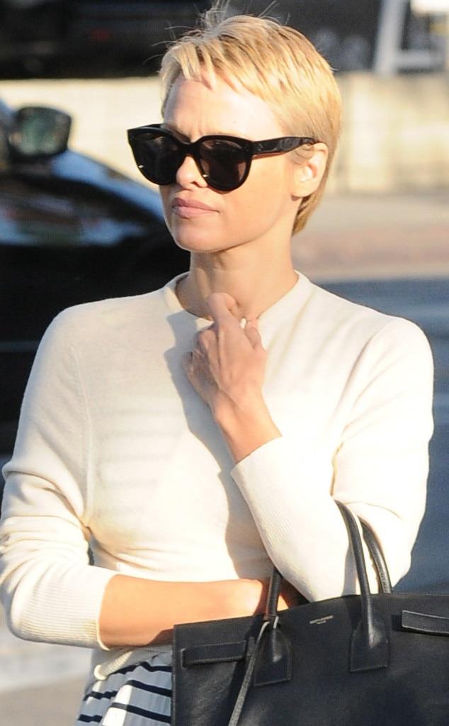 Pamela Anderson, Short Hair