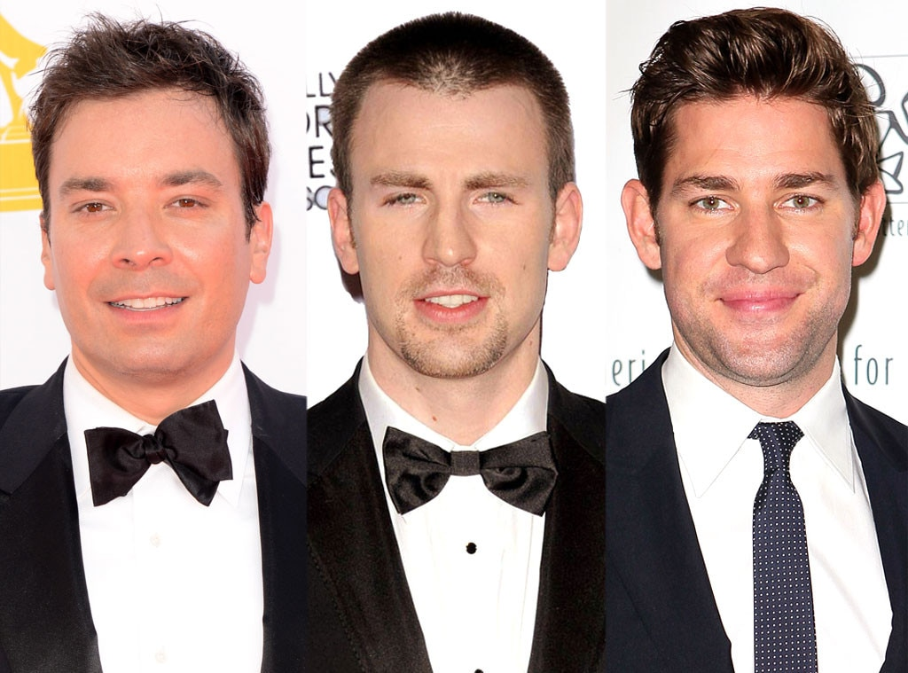 Jimmy Fallon, John Krasinski, Chris Evans
