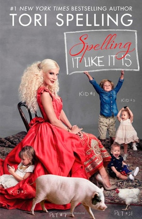Spelling It Like It Is, Tori Spelling