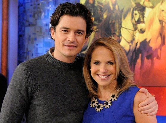 Orlando Bloom, Katie Couric Show