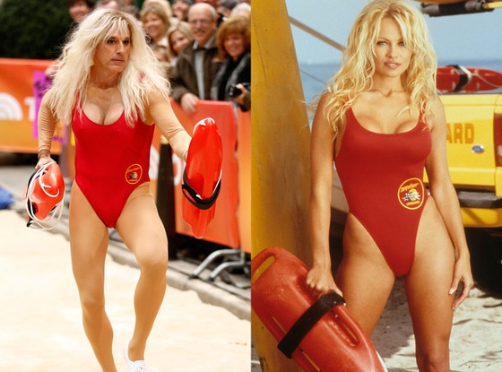 Matt Lauer, Pamela Anderson, Baywatch